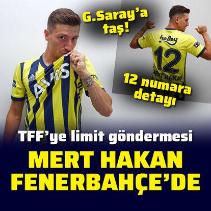 Mert Hakan Yandaş, Fenerbahçe'de!
