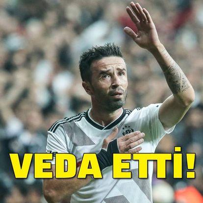 Gökhan Gönül'den Beşiktaş'a veda