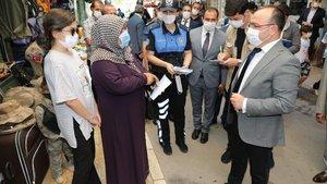 Vali ile vatandaş arasında gülümseten diyalog
