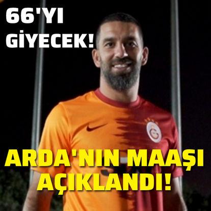 Arda Turan'ın maaşı açıklandı!