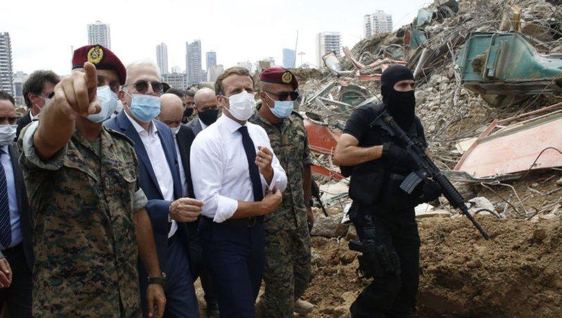 Fransa Cumhurbaşkanı Macron'dan Lübnan açıklaması