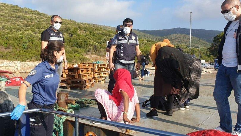 İzmir'de 41 düzensiz göçmen yakalandı
