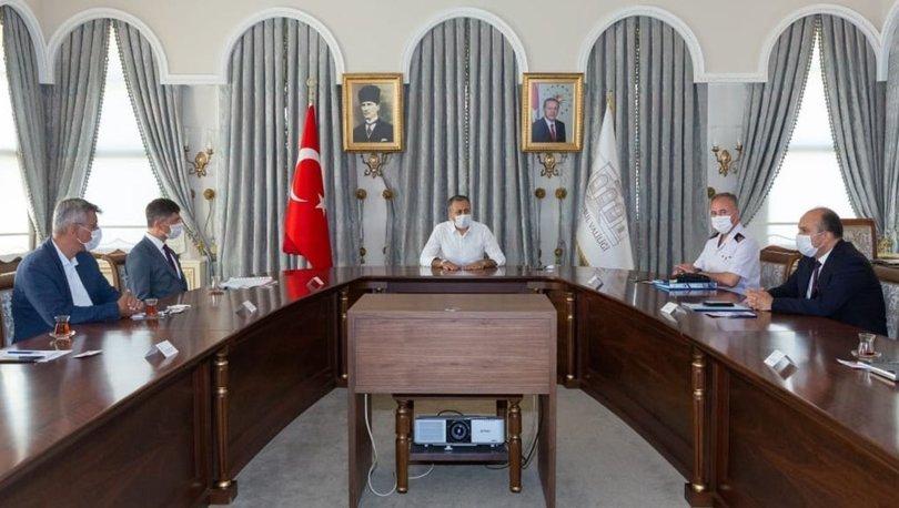 İstanbul Valiliği'nde filyasyon toplantısı