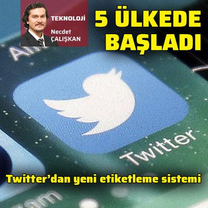 Twitter'dan devlete bağlı medya hesaplarına etiket-Haberler