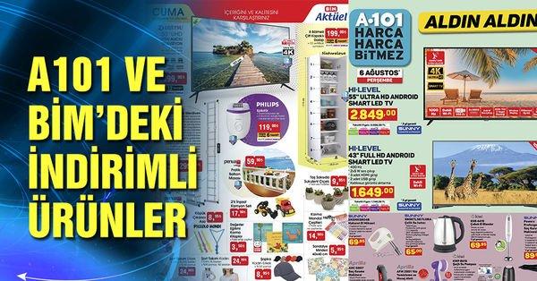 A101 BİM aktüel ürünler kataloğu