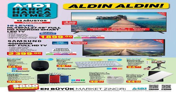 A101 BİM aktüel ürünleri