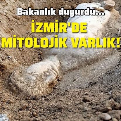 Bakanlık duyurdu... İzmir'de mitolojik varlık!