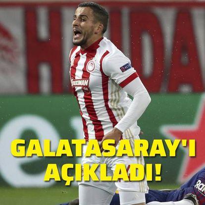Galatasaray'a transferini açıkladı!