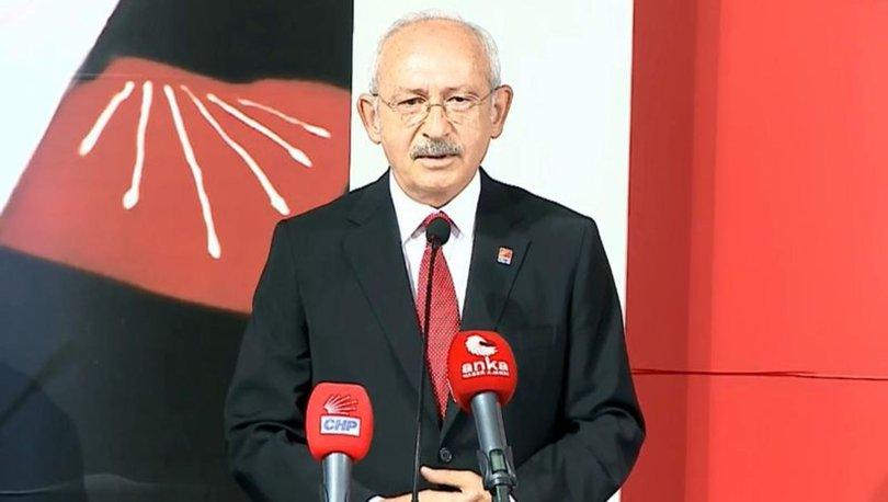 Kılıçdaroğlu Parti Meclisi'nde konuştu