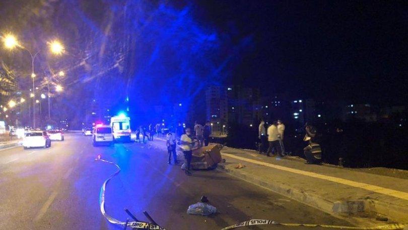 Kahramanmaraş'ta trafik kazası! 1 ölü, 3 yaralı