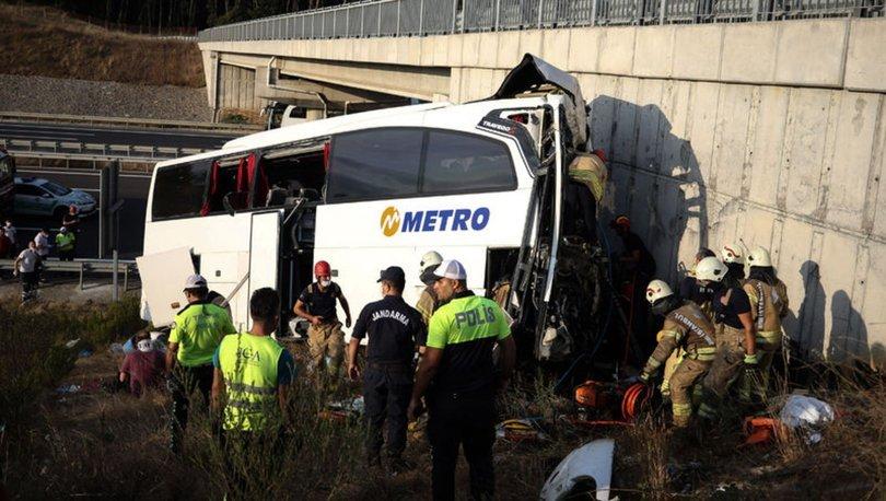 Son dakika! İstanbul'da otobüs kazası! Ölü ve yaralılar var