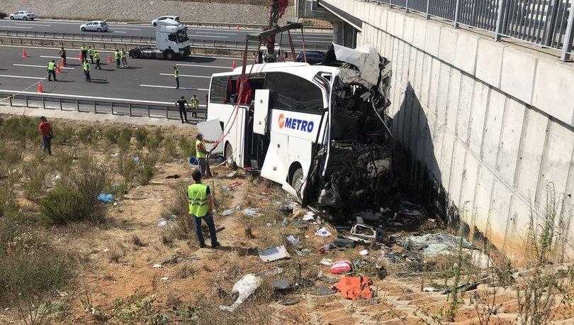 Son dakika haberler... İstanbul'daki otobüs kazasında ilk rapor çıktı!