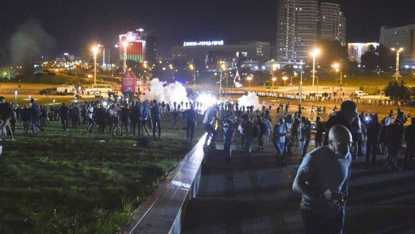 Belarus'ta seçim sonuçları protestosu devam ediyor
