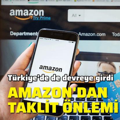 Amazon'dan taklit önlemi