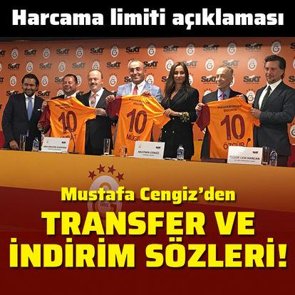 Cengiz'den transfer ve limit açıklaması
