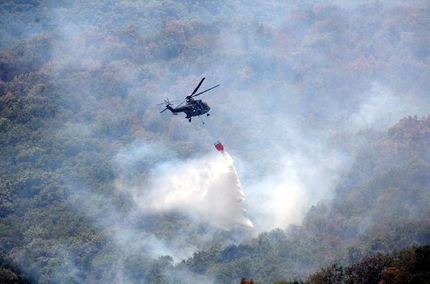 Edirne Valiliği'nden sınırdaki yangına ilişkin açıklama