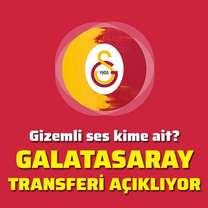Galatasaray transferi açıklıyor