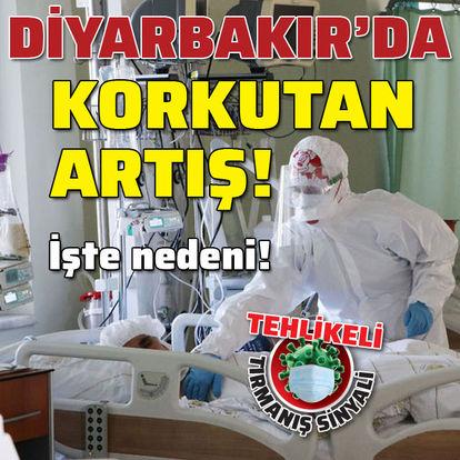 Diyarbakır'da 'Korona' artışı!