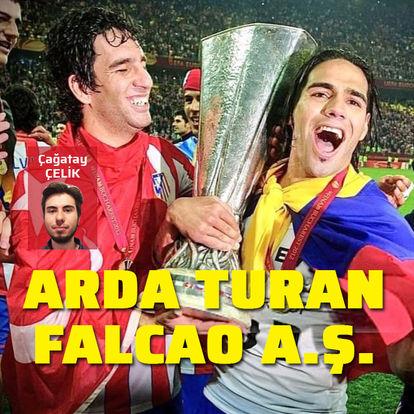 Arda & Falcao A.Ş!