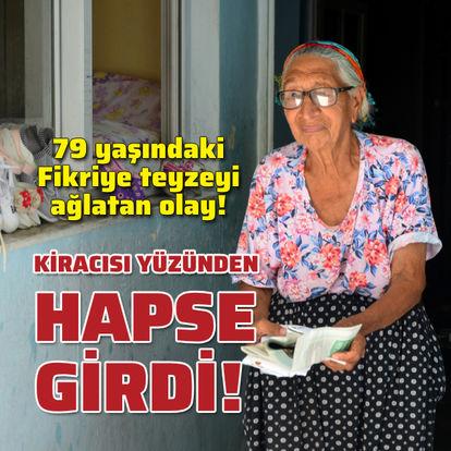 79 yaşındaki kadın kiracısı yüzünden hapse girdi!