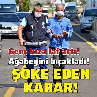 Adana son dakika haberleri! Laf attı ve sonra bıçakladı