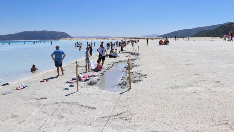 salda gölü çamur çukurları