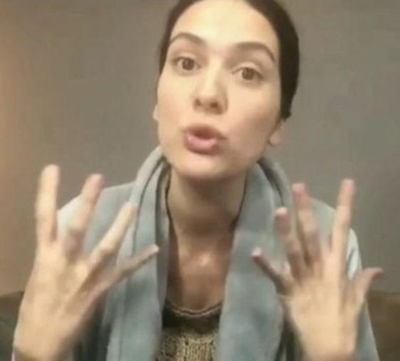 Bergüzar Korel'den teşekkür videosu - Magazin haberleri