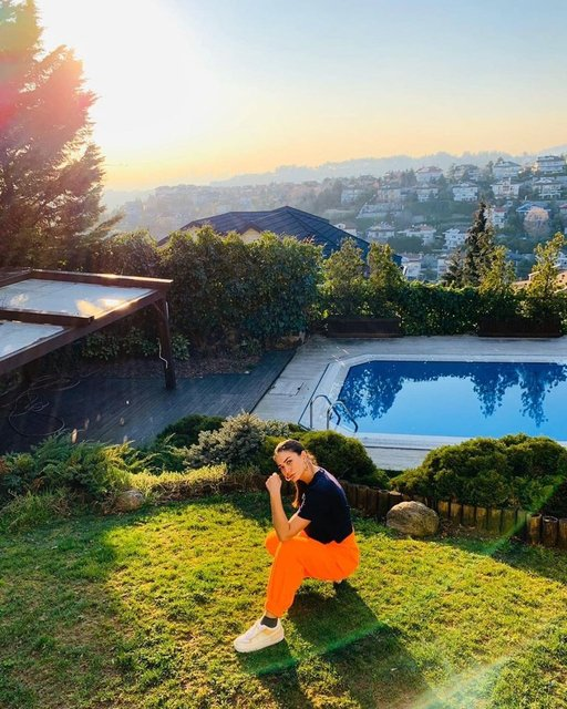 İşte Demet Özdemir'in evi - Magazin haberleri