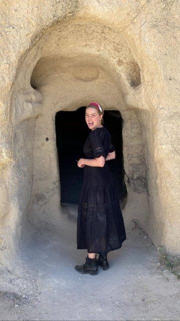 Amber Heard Türkiye gezisine devam ediyor - Magazin haberleri
