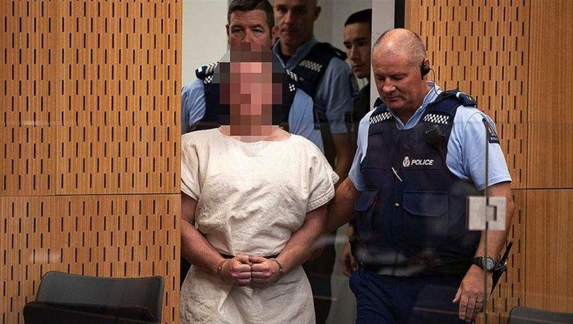 Yeni Zelanda'da camide 51 kişiyi öldüren terörist mahkemede!