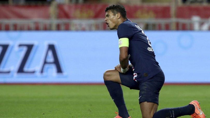 Thiago Silva, PSG'ye veda etti