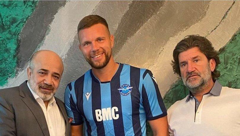 Adana Demirspor, kaleci Emilijus Zubas'ı transfer etti