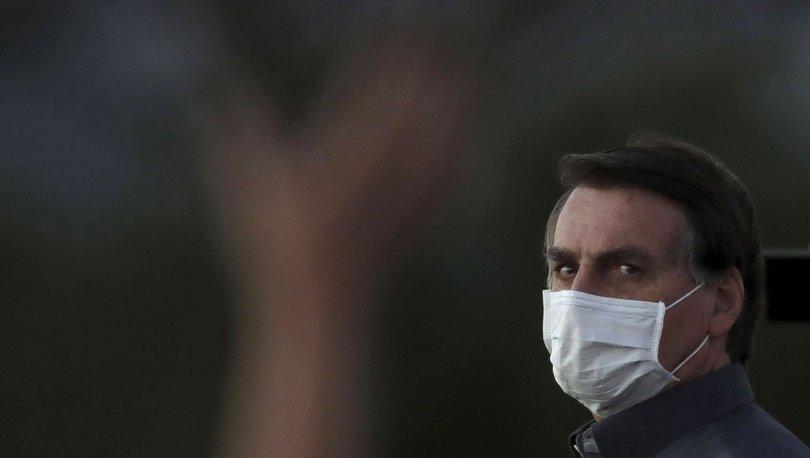 Brezilya Devlet Başkanı Bolsonaro muhabire sinirlendi: Yüzünü dağıtmak istiyorum!