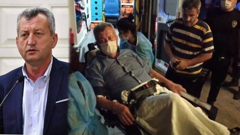 Menemen eski başkanına silahlı saldırı