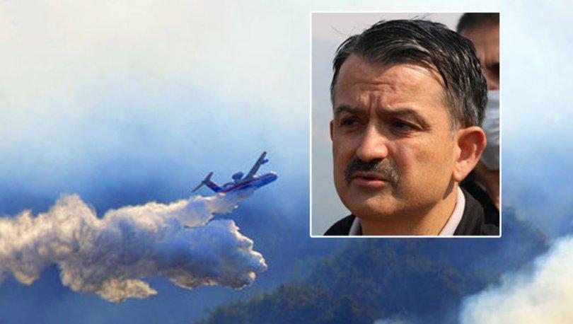 Adana Kozan'da yangın