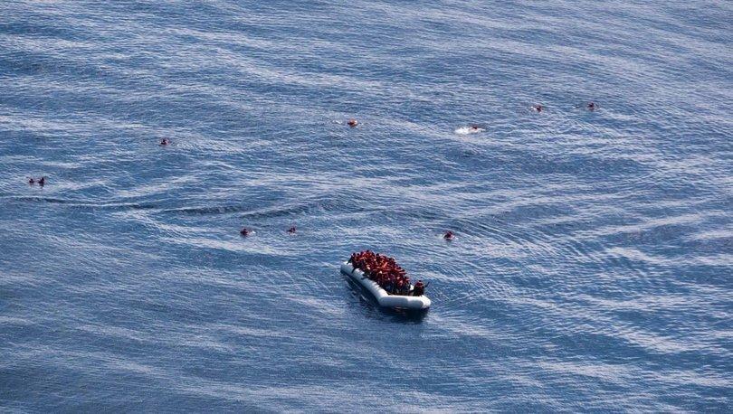 Son dakika haberleri! Yunanistan açıklarında 80 düzensiz göçmeni taşıyan bot battı!