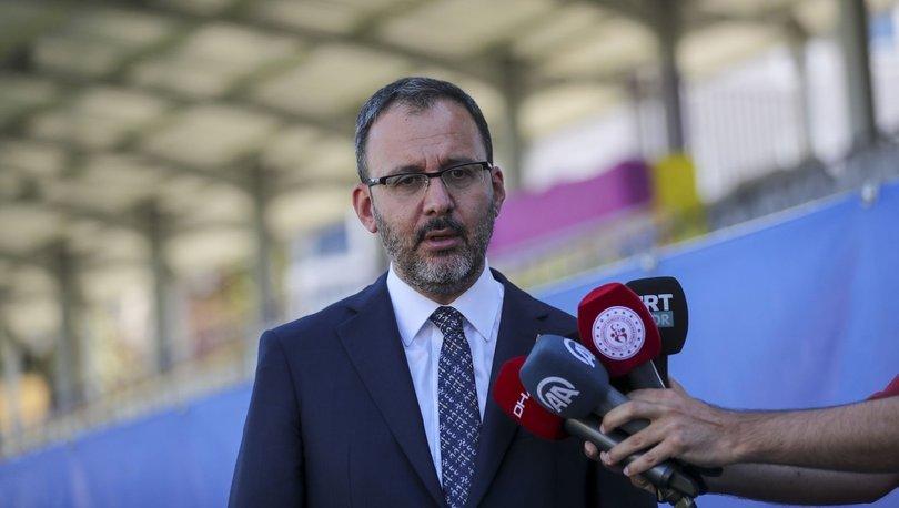 Gençlik ve Spor Bakanı Mehmet Muharrem Kasapoğlu