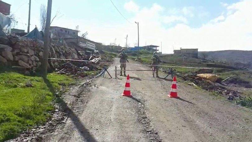 Siirt'te bir köy, yeni tip koronavirüs (Kovid-19) tedbirleri kapsamında karantinaya alındı