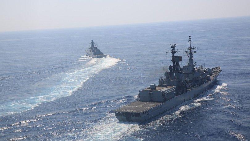 MSB: Doğu Akdeniz'de deniz eğitimleri gerçekleştirildi