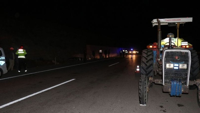Çankırı'da traktör şarampole devrildi: 1 ölü, 2 yaralı