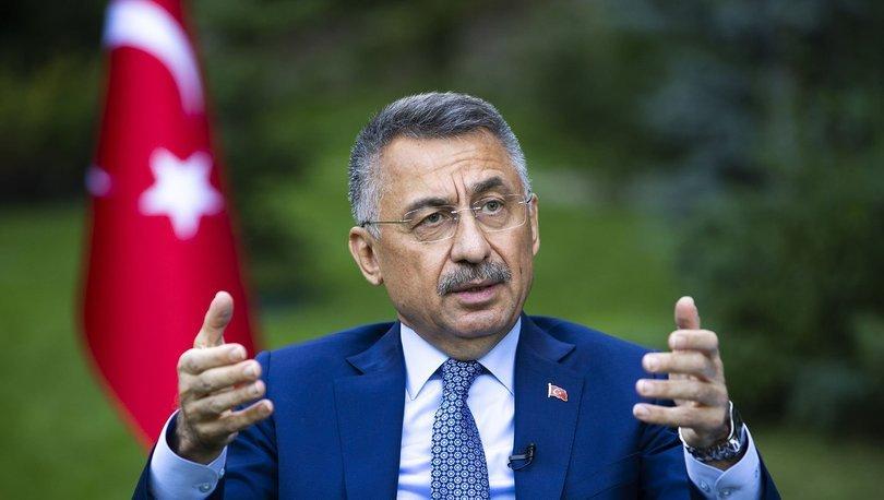 Son dakika haberleri! Cumhurbaşkanı Yardımcısı Fuat Oktay'dan Doğu Akdeniz açıklaması!