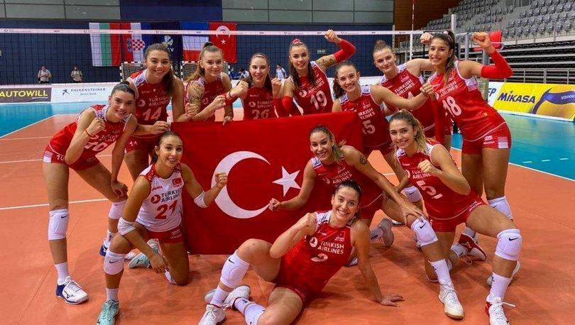 19 Yaş Altı Genç Kız Voleybol Milli Takımı, Avrupa Şampiyonası'nda finalde