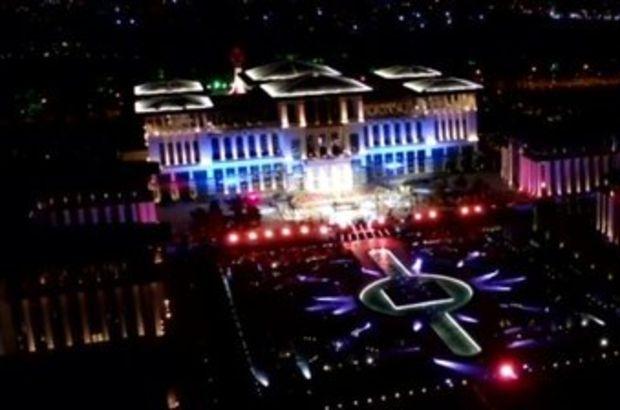 Cumhurbaşkanlığı Külliyesi'nde '30 Ağustos Zafer Bayramı' konseri