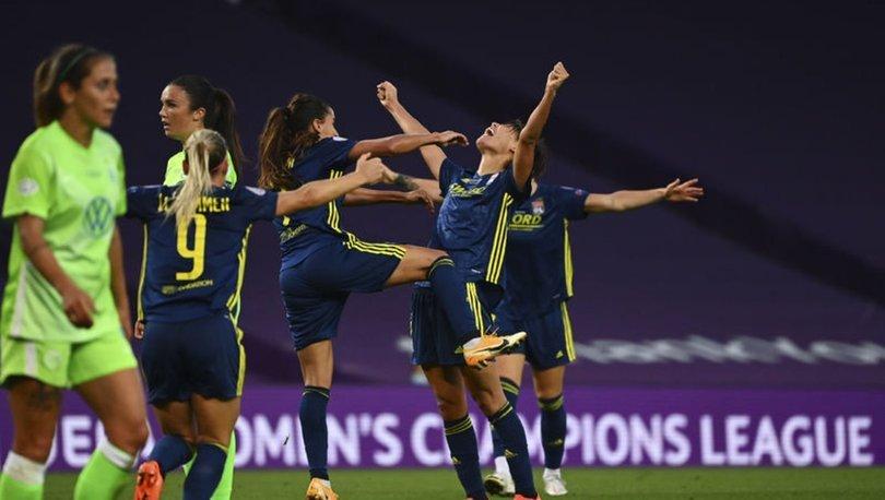 Lyon, kadın futbolunda üst üste 5. kez Avrupa'nın en büyüğü oldu