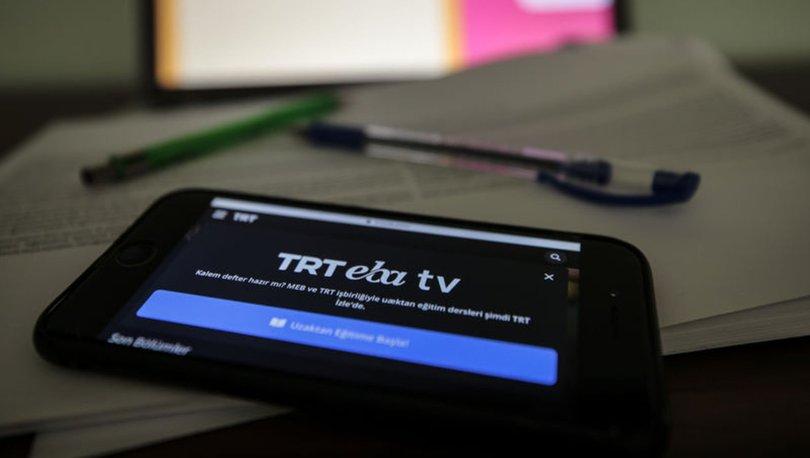 EBA uzaktan eğitim ders programı lise! 31 Ağustos 2020 TRT EBA TV uzaktan eğitim lise dersleri izle