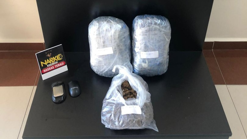 Aydın'da narko operasyon: 3 kilo skunk ele geçirildi!
