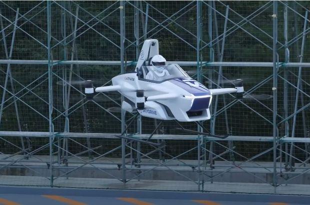 Japonlar uçan araba test etti