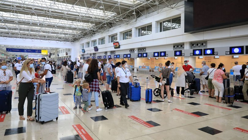 antalyaya gelen turist sayısı