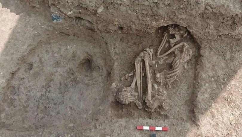 Bilecik´te bulunan 8 bin 500 yıllık insan iskeletinin DNA´sı incelenecek