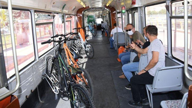Son dakika haberi... O ilde bir ilk daha: Bisiklet tramvayı